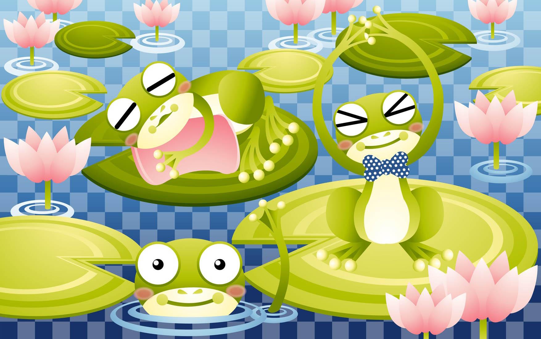 Azimli Üç Kurbağa