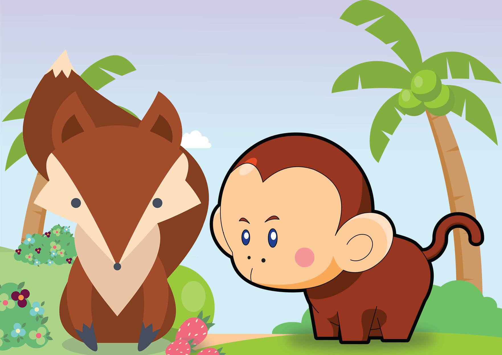 Maymun ile Tilki