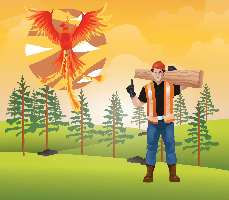 Oduncu ile Anka Kuşu