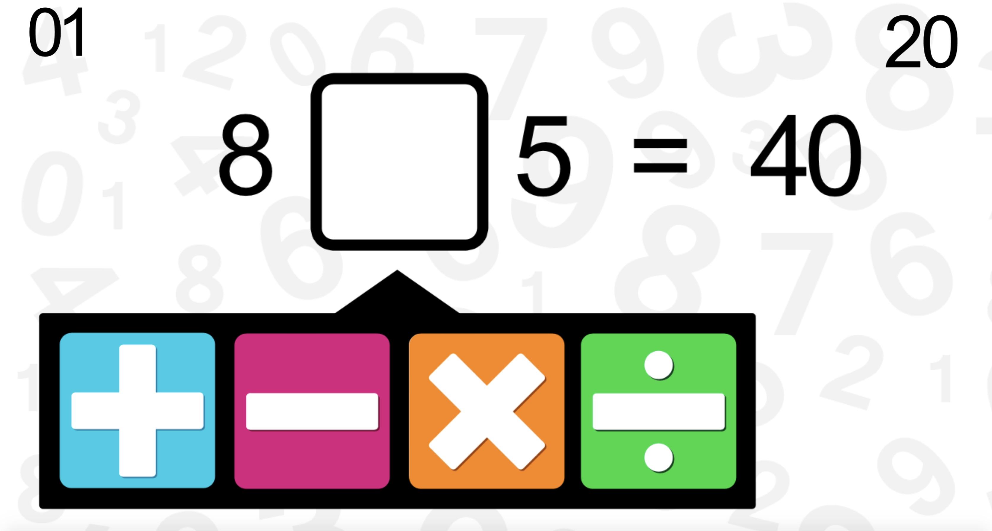 Dört İşlem Matematik Oyunu