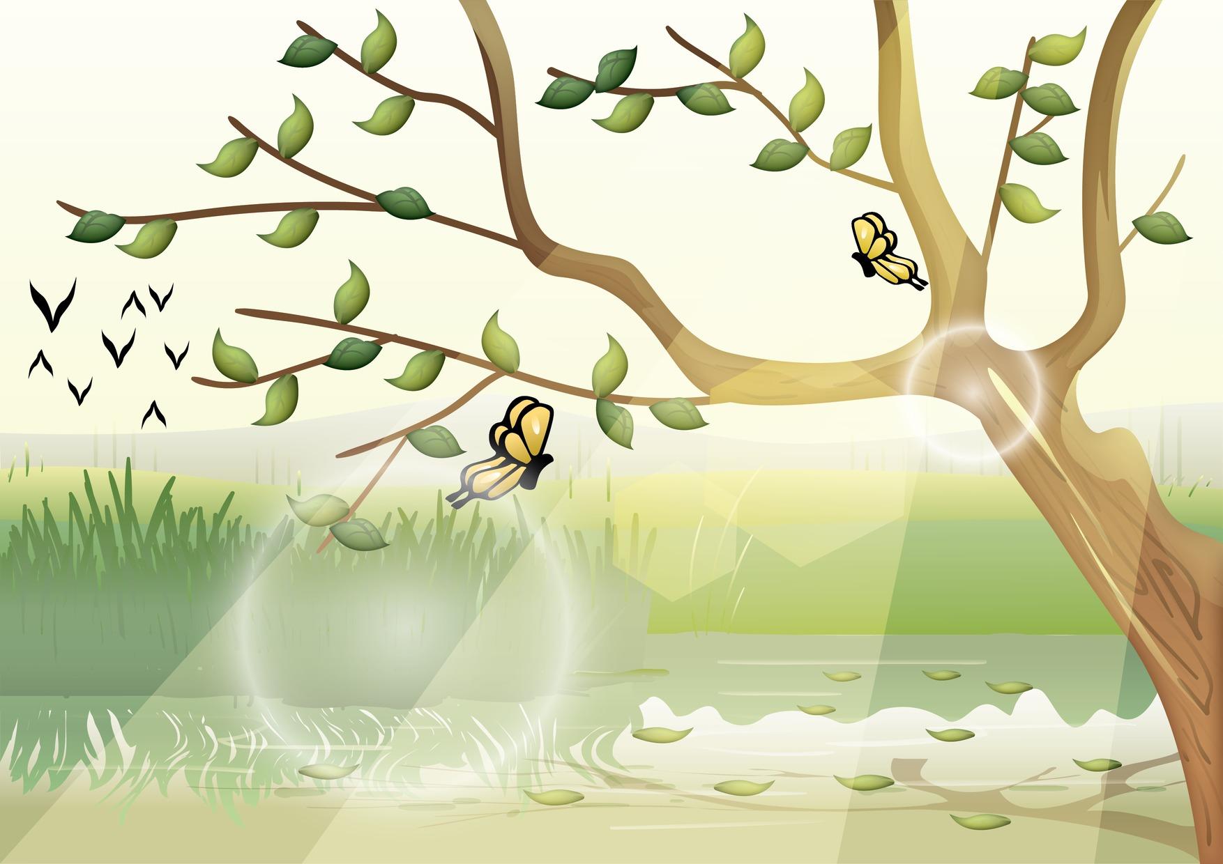 Rüzgar ile Yaprak